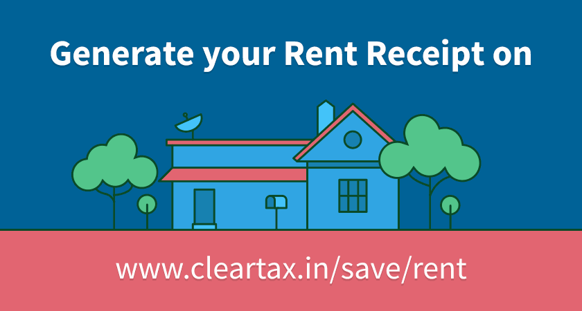 Create Rent Receipts for HRA easily ClearSave by cleartaxin – Rent Receipt Format India