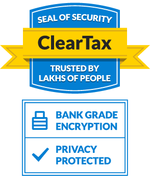 cleartax security seal
