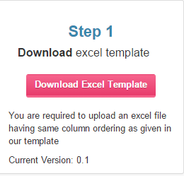 Step 2 of Import from Excel